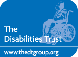 The Disabilities Trust Mobile Logo