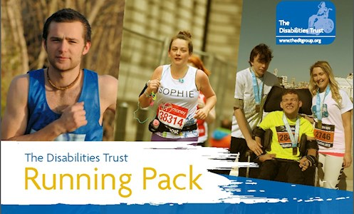 The Disabilities Trust running pack