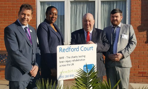 Member of Parliament for Liverpool West Derby, Stephen Twigg, visits Redford Court