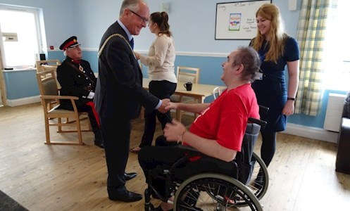 High Sherriff and Lord Mayor attend an open day at Redford Court