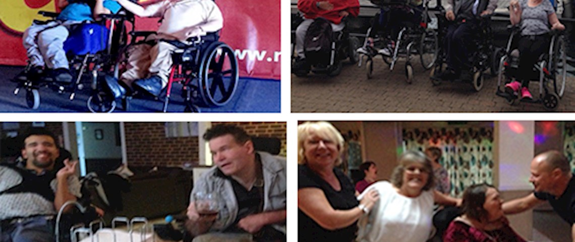 service users enjoy various activities at Shinewater Court