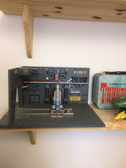 A model from Thunderbirds by Andrew from Redford Court