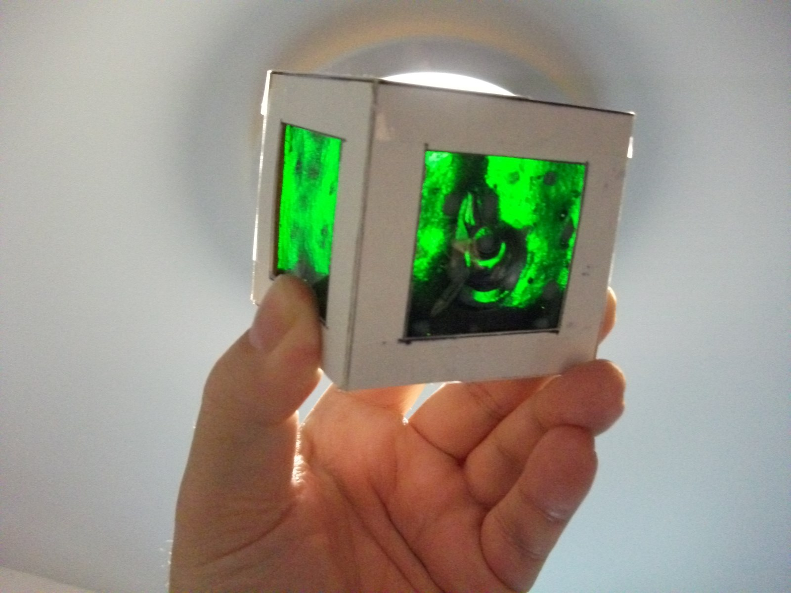 Kiln-fused glass formed into cubes.jpg