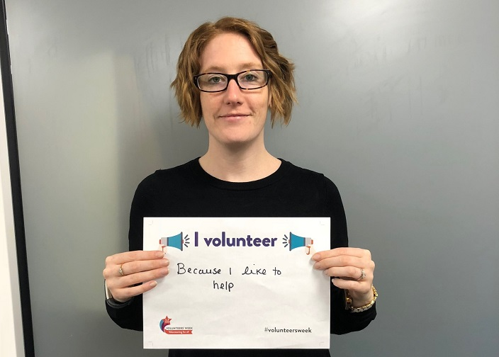 We shared people's reasons for volunteering to inspire others to get involved