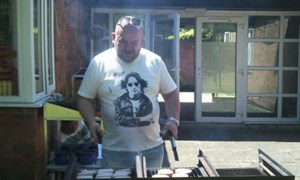 the bbq at Bristol Road