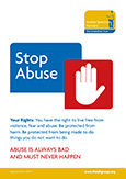 Stop Abuse Brochure thumbnail image