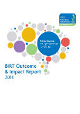 BIRT Outcome Report 2014 thumbnail image